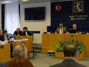 2015 yılı bütçesi Plan ve Bütçe Komisyonu'nda
