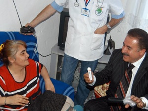 Mamak'ta bin 130 hastaya evde bakım