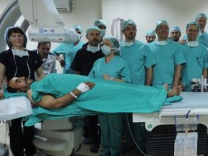 Bu ameliyat Türkiye'de ilk kez Batman'da yapıldı