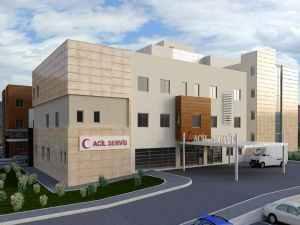 Gölhisar Devlet Hastanesinin yüzde 80'i tamamlandı