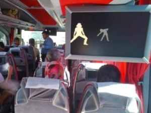 Otobüste de hareketsiz kalmayın egzersiz yapın