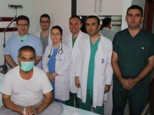Kahramanmaraş'ta ilk karaciğer nakli