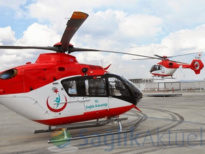 Ambulans helikopterler gece de uçacak