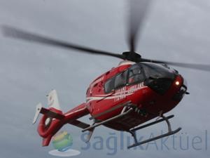 Müezzinoğlu, 'Ambulans helikopterlerimiz gece uçuşlarına da hazır'