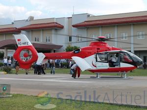 Gece görüşlü ambulans helikopterler hizmete giriyor!