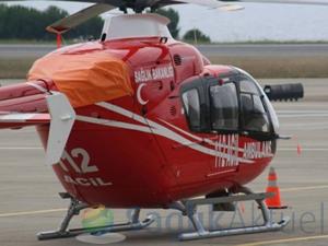 Ambulans helikopterle Ege'de 6 yılda 3 bin vakaya müdahale