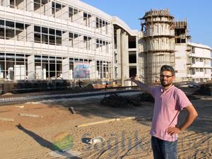 Ödemiş'in yeni hastane inşaatı durdu