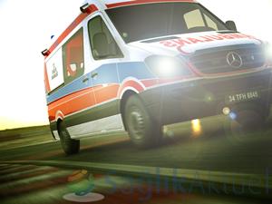 Ambulans şoförlerine sürüş teknikleri eğitimi