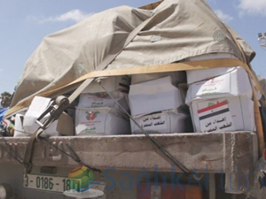 Ürdün'den Gazze'ye tıbbi malzeme yardımı