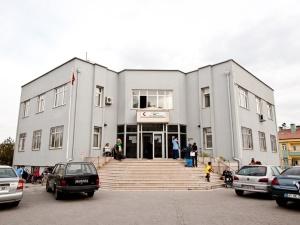 Aile sağlığı merkezi bahçesinde Türkiye rekorları için hazırlanıyorlar