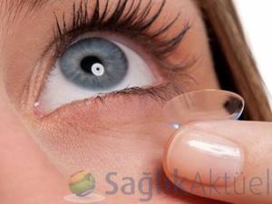 Kontak lensler için ürün takip sistemi geliyor