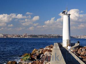 """""""Kadıköy'de denize girmeyin"""" uyarısı"""