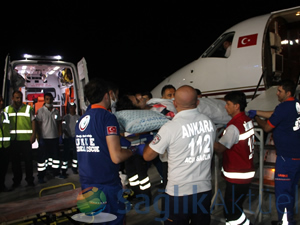 Yaralı Amerikalı gazeteciler İstanbul'da