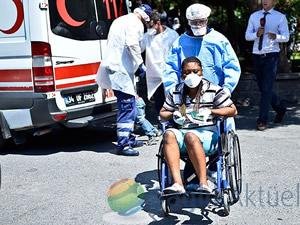 """""""Ebola"""" sanılan yolcuya sıtma teşhisi"""