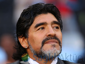 Maradona, kliniğe kaldırıldı