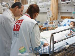 YYD, Türkiye'ye getirilecek yaralıların tespit çalışmalarını yapıyor