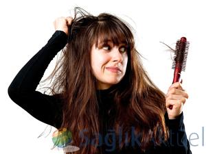 Saç dökülmesinin altında farklı nedenler var