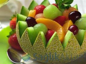 Yaz meyvelerini fazla tüketmek kilo aldırıyor