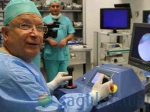 Tıp dünyası milli robotun peşinde