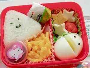 Çocukların beslenme çantasını renklendirin