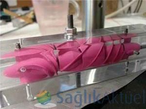 Üç boyutlu yazıcı kullanılarak Türkiye'nin ilk yerli kalp pompası üretildi