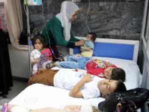 'Bir yatakta 3 çocuk'la tedavi!