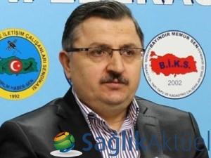 Başbakan Davutoğlu, Memur-Sen heyetini kabul etti