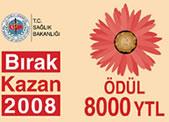 Sağlık Bakanlığı'ndan, 8000.YTL Ödüllü Sigarayı Bırakma Kampanyası