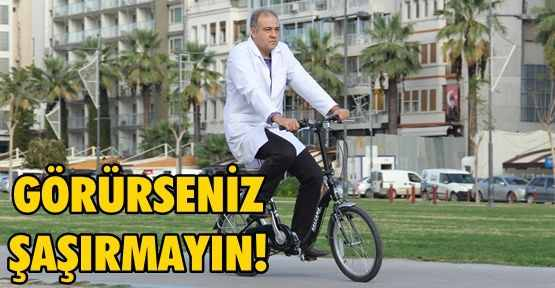 """Sağlıkta yeni trend """"bisikletli doktorum"""""""