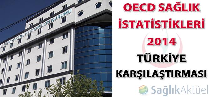 OECD Sağlık İstatistikleri 2014 - Türkiye Karşılaştırması