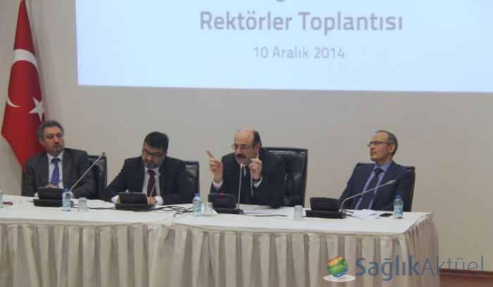 Rektörler toplantısı yapıldı