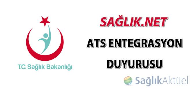 SağlıkNET ATS entegrasyon duyurusu