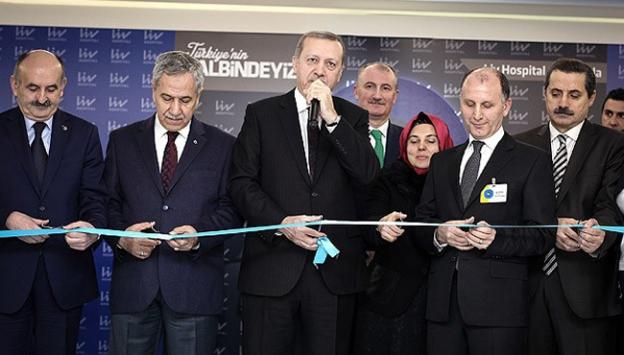 Erdoğan, Liv Hospital Ankara'nın açılışını yaptı-Video