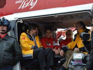 Gece uçabilen ambulans helikopterler dünyada 13 ülkede var