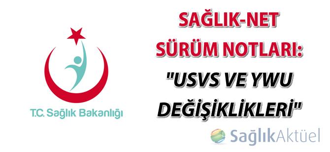 USVS ve YWU değişiklikleri hakkında duyuru