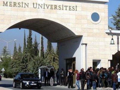 Mersin Üniversitesi'nden ihale belgeleri çalındı