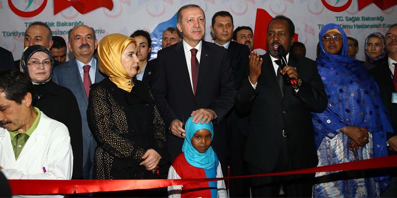 Somali-Türkiye Eğitim ve Araştırma Hastanesi'nin açılışı yapıldı