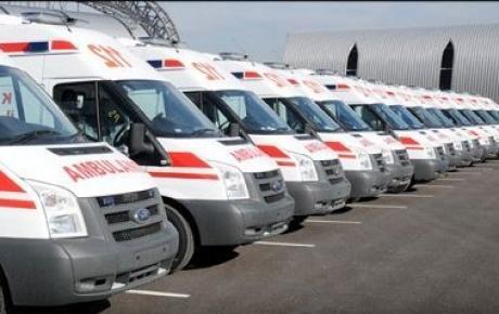 Kameralı ambulanslar yollarda