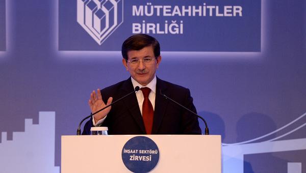 Davutoğlu'ndan ev alacaklara müjde: Devlet destek verecek