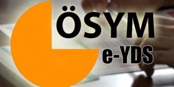 e-YDS sınava giriş belgeleri yayımlandı