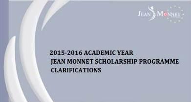 'Jean Monnet Burs Programı'na 210 kontenjan ayrıldı