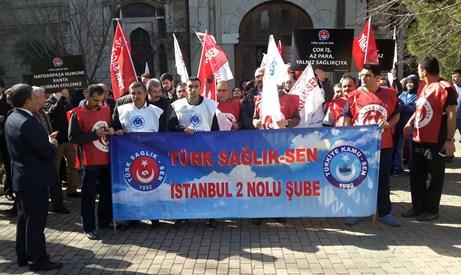 Sağlık çalışanları greve gidiyor
