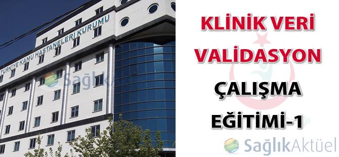 TİG Klinik Veri Validasyon Çalışma Eğitimi