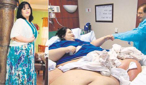 450 kilodan 90 kiloya düştü