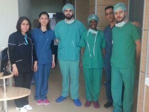 Portekizli hemşireler cerrahi stajını Karaman'da yapıyor