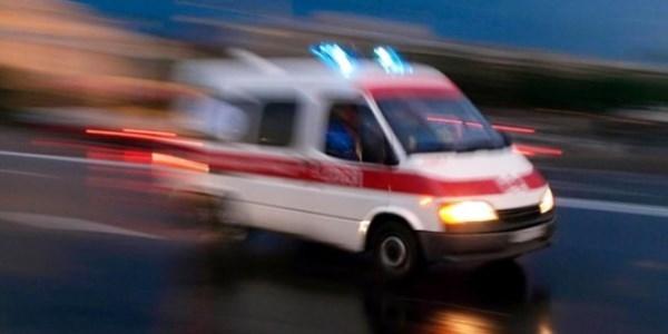 Ambulanslara 12 saniye yol vermeyen yandı