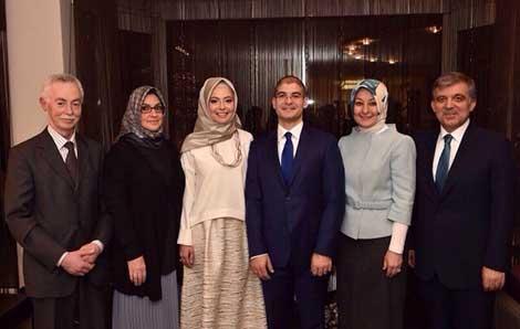 İşte Abdullah Gül'ün doktor gelini