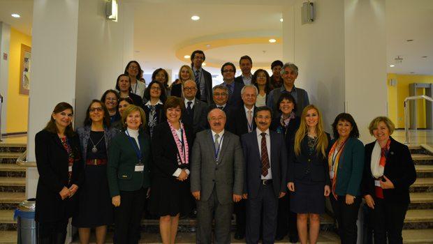 Sağlık Bilimleri Fakültesi Dekanları Başkent'te buluştu