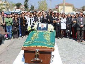 Cenazesi 4 ay önce başhekim olduğu hastaneden kalktı
