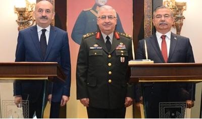 Sağlık Bakanlığı, TSK ve Milli Savunma Bakanlığı arasında işbirliği